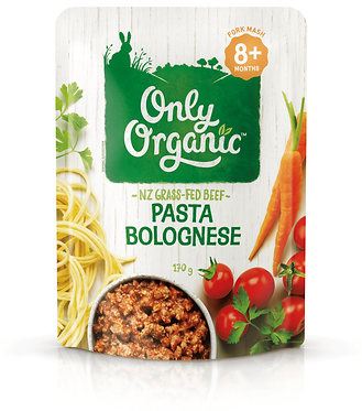 Only Organic Pasta Bolognese Pouch(6pice)