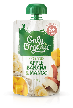 Only Organic Apple Banana&Mango(6pice)