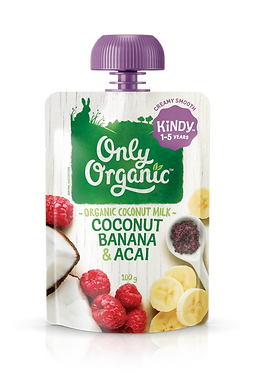 Only Organic Coconut Banana&Acai Smoothie(6pice)