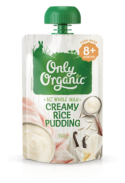 Only Organic Creamy Rice Pudding(6pice)