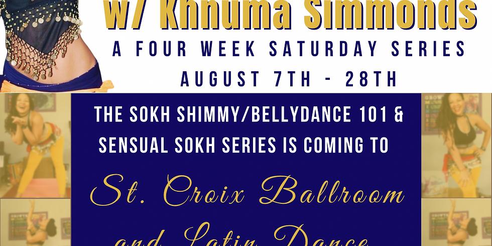Sokh Shimmy: Belly Dance 4-Week Saturday Series
