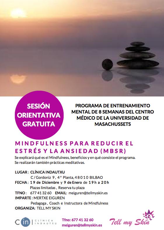 Programa Mindfulness para reducir el Estrés y la Ansiedad (MBSR)