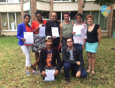 Remise des certifications A2-2
