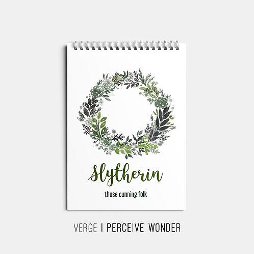 Slytherin Sketchbook