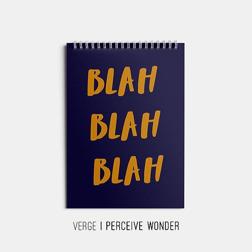 Blah Blah Blah Sketchbook