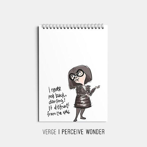 I Never Look Back/Edna Sketchbook