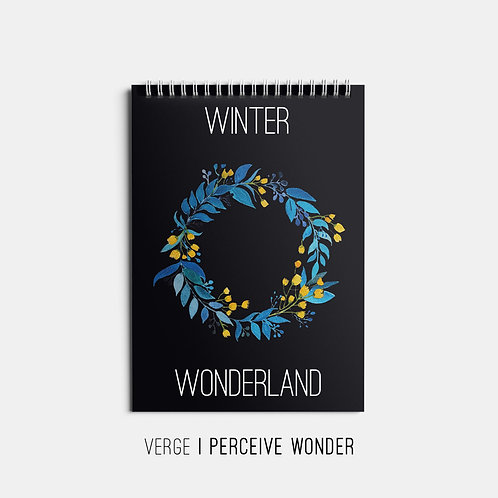 Winter Wonderland Sketchbook