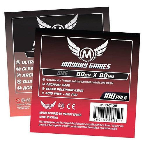 Mayday Games - Card Sleeves 80x80