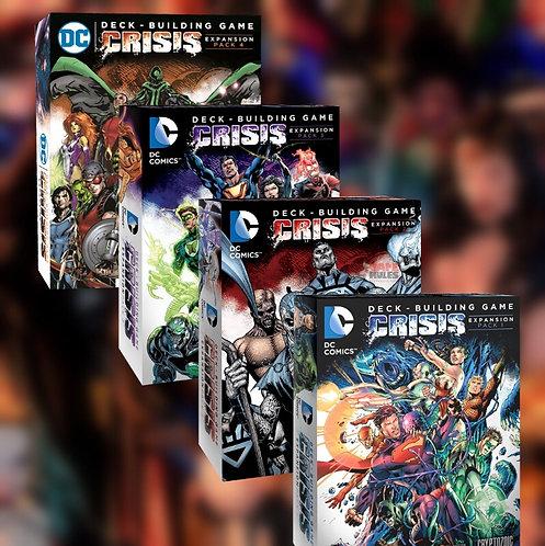 DC Comics Deck-Building Game: Crisis Expansion Pack