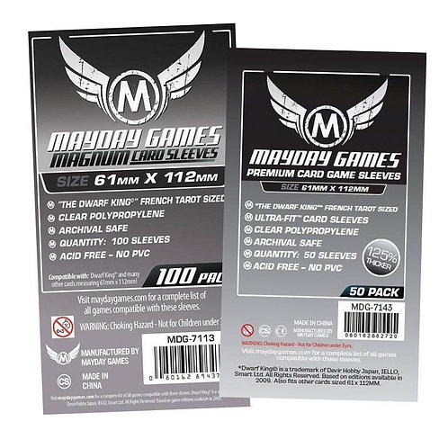 Mayday Games - Card Sleeves 61x112