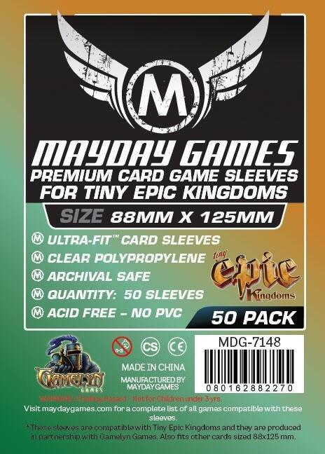 Mayday Games - Card Sleeves 88x125