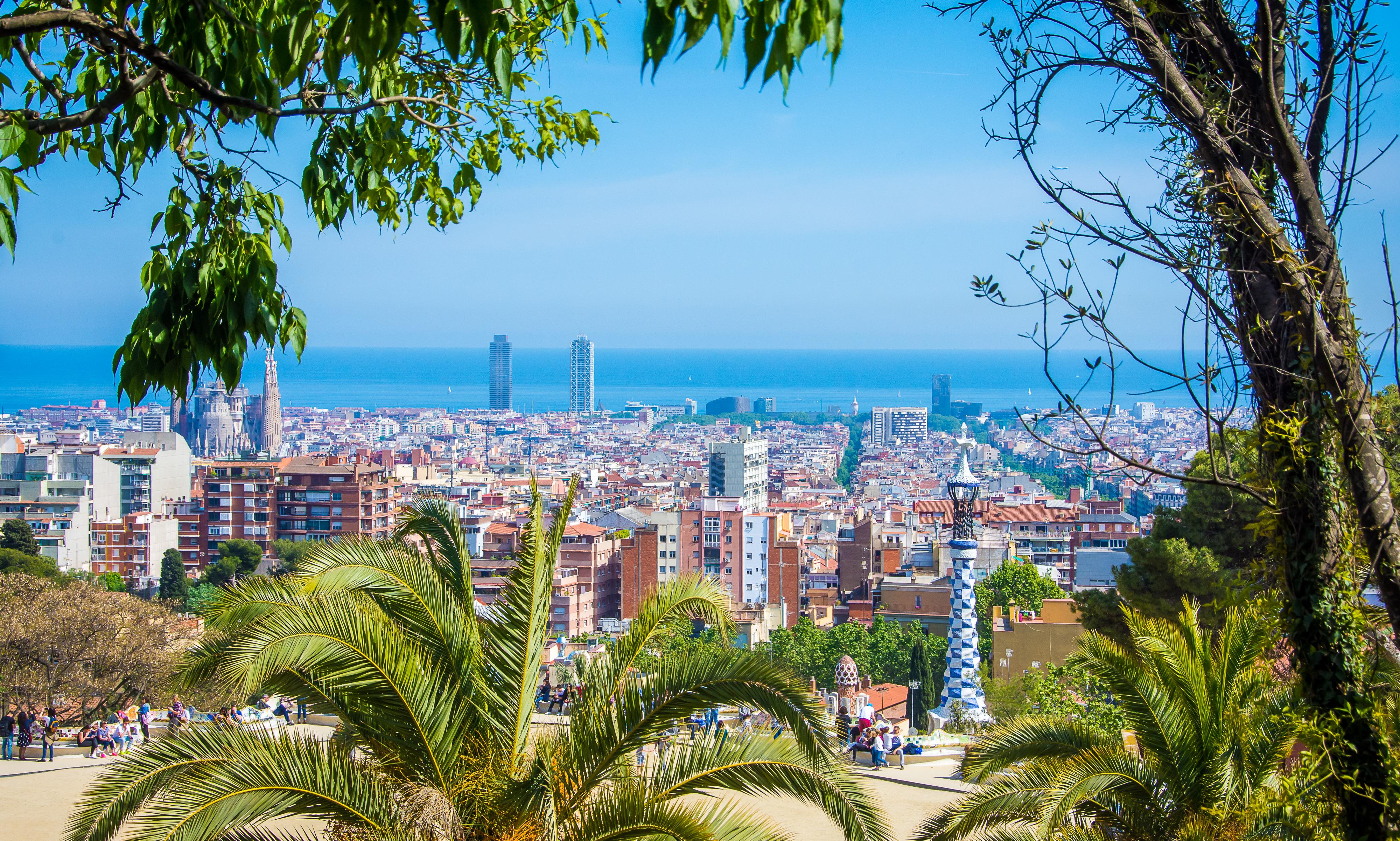landscape - barcelona - Park Güell