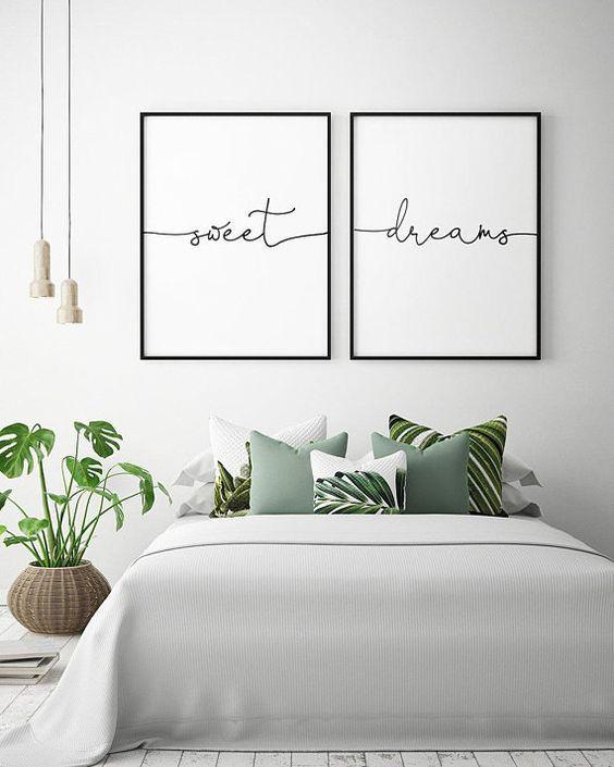 Organised bedroom for a better sleep