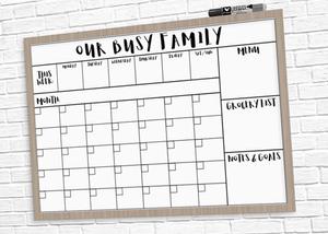 Family calendar - Homefulness