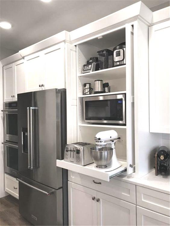 Organised kitchen appliances - Homefulness
