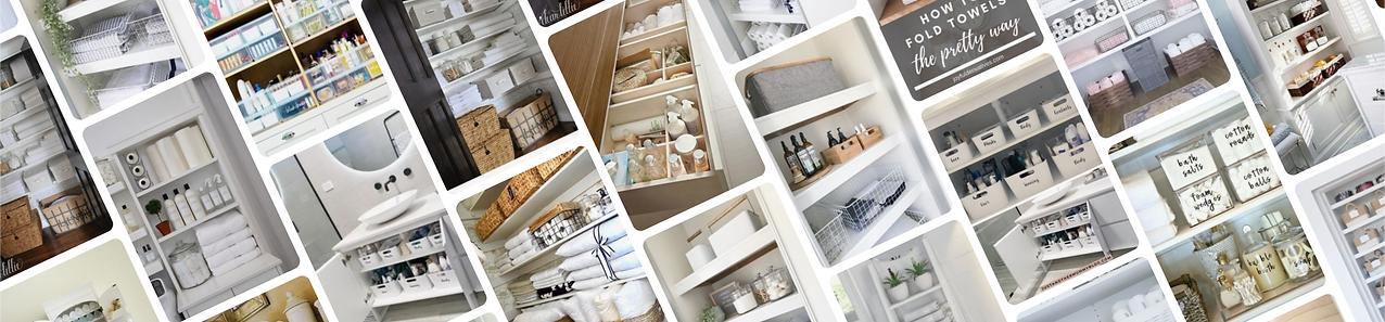 Organised bathroom - Homefulness