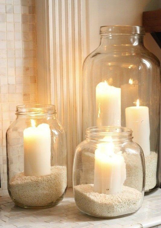 Candles in an organised bathroom - Homefulness