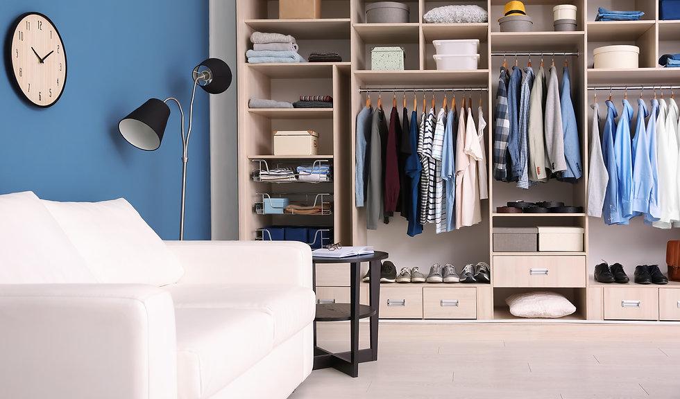 Blue wardrobe in room.jpeg