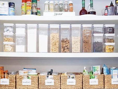 Homefulness tips to reduce food waste by organising your kitchen