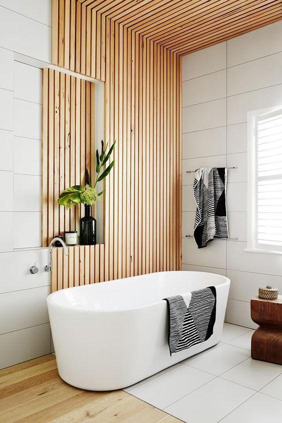 Organised bathroom with spa feel - Homefulness