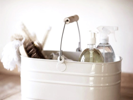 Tips for a mindful spring cleaning
