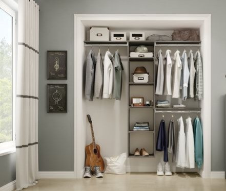 Organised teen closet - Homefulness