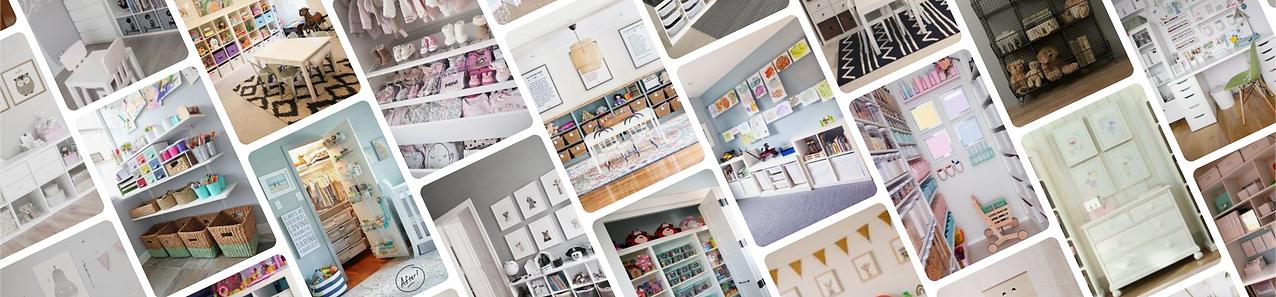 Organised kids playroom and bedroom - Homefulness