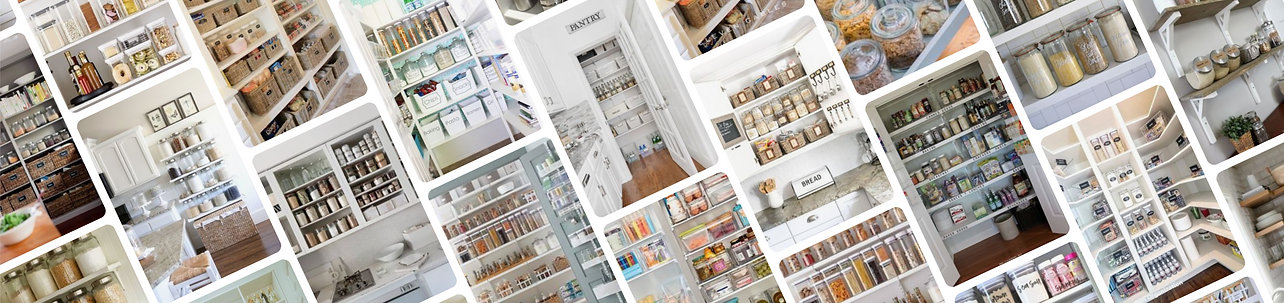 Organised kitchen and pantry - Homefulness