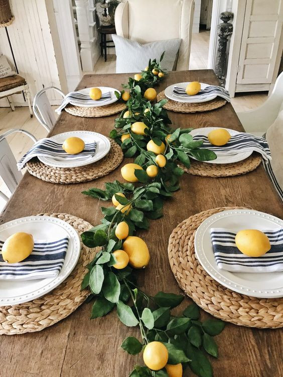 Summer table dressing - Homefulness