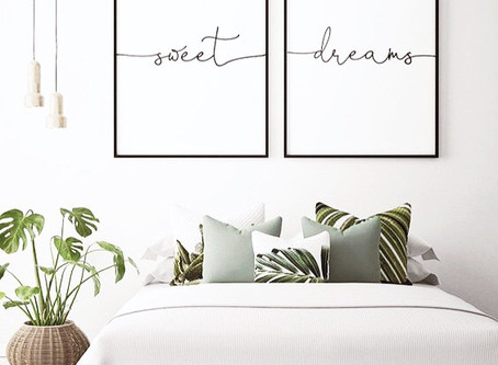 Organise your bedroom for a better night's sleep