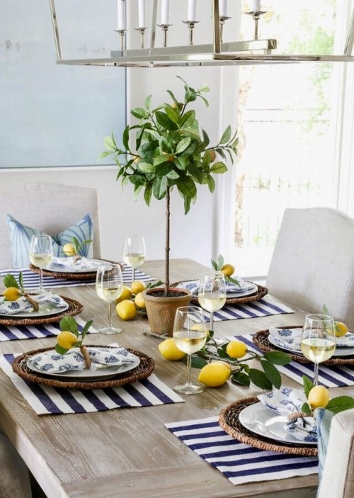 Summer table - Homefulness