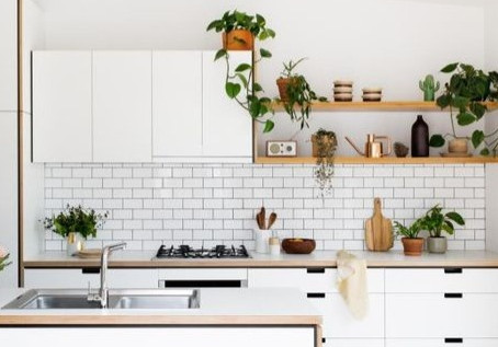 Green living: kitchen edition