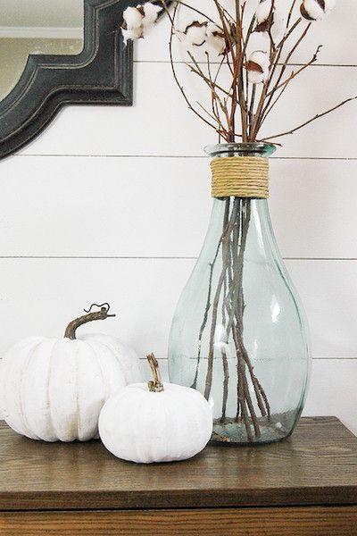 White pumpkins - Homefulness