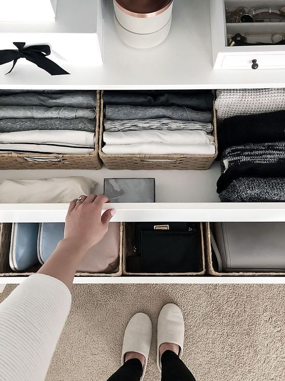 Organised drawer - Homefulness