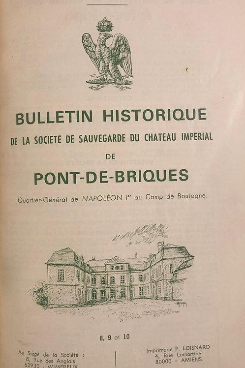 Etudes Napoleoniennes N°08, 09 et 10