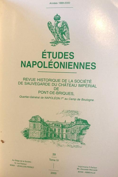 Etudes Napoleoniennes N°39
