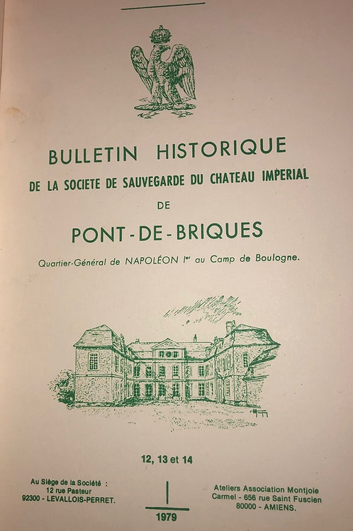 Etudes Napoleoniennes N°12, 13, 14