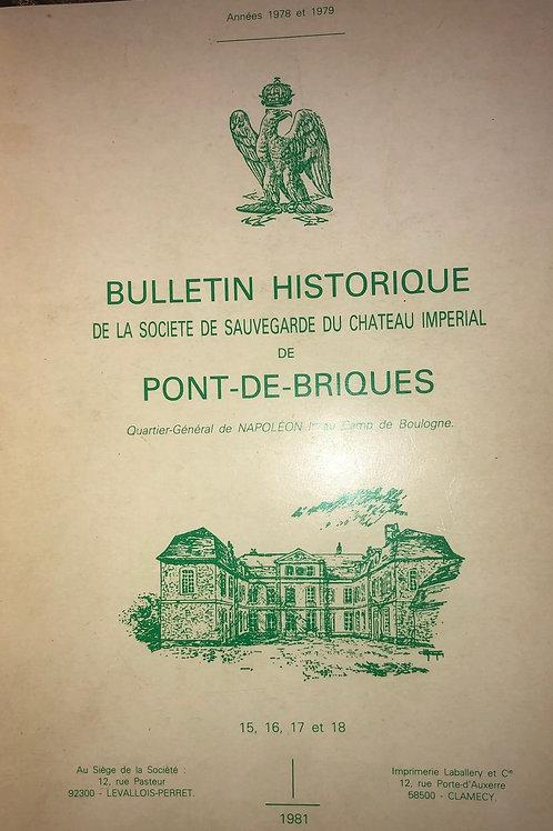 Etudes Napoleoniennes N°15, 16, 17, 18