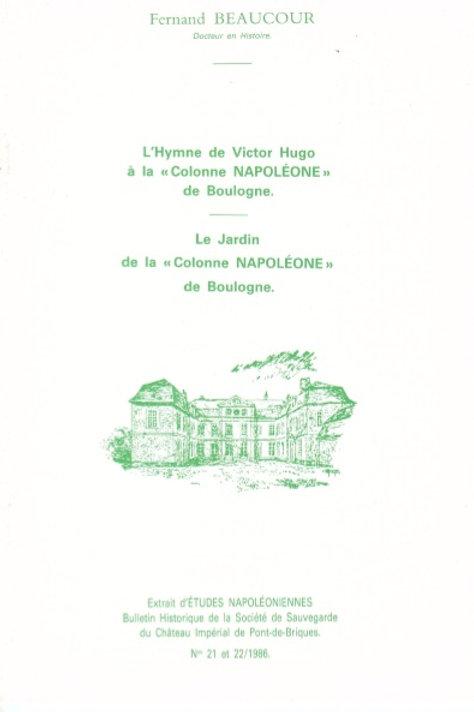 L'hymne de Victor Hugo à la colonne de Boulogne