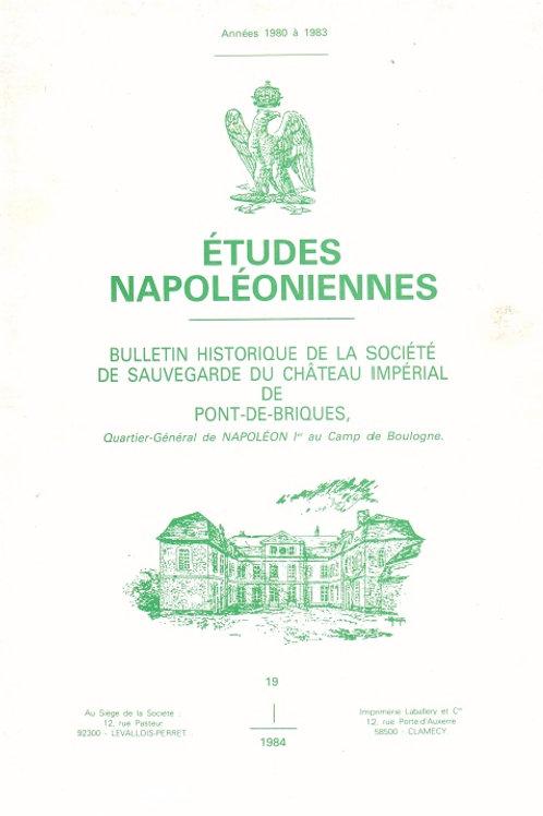Etudes Napoleoniennes N°19