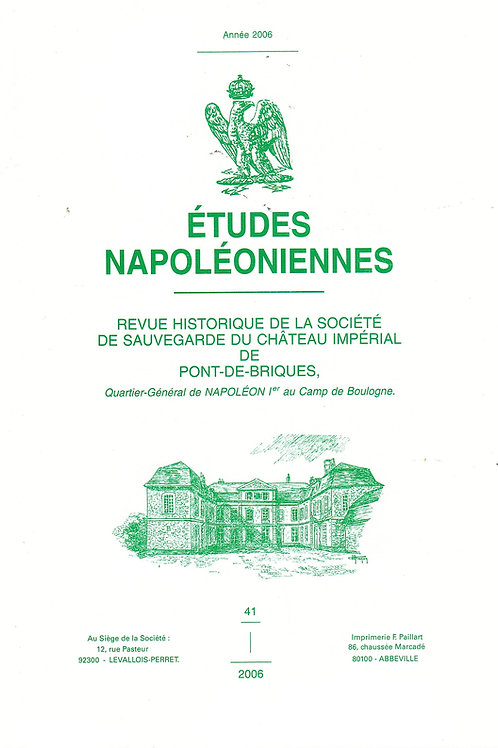 Etudes Napoleoniennes N°41