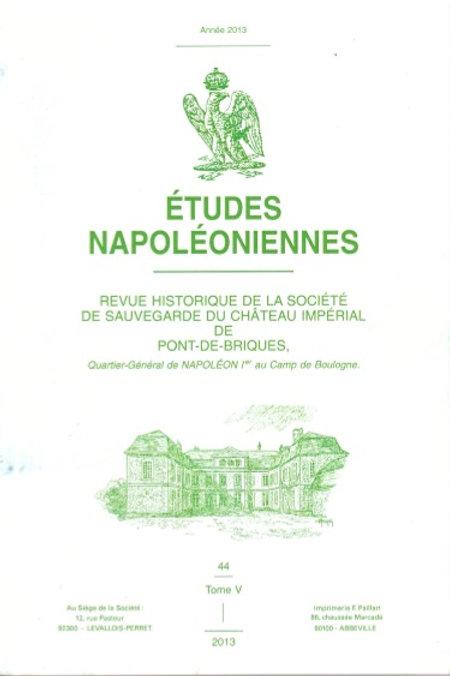 Etudes Napoleoniennes N°44