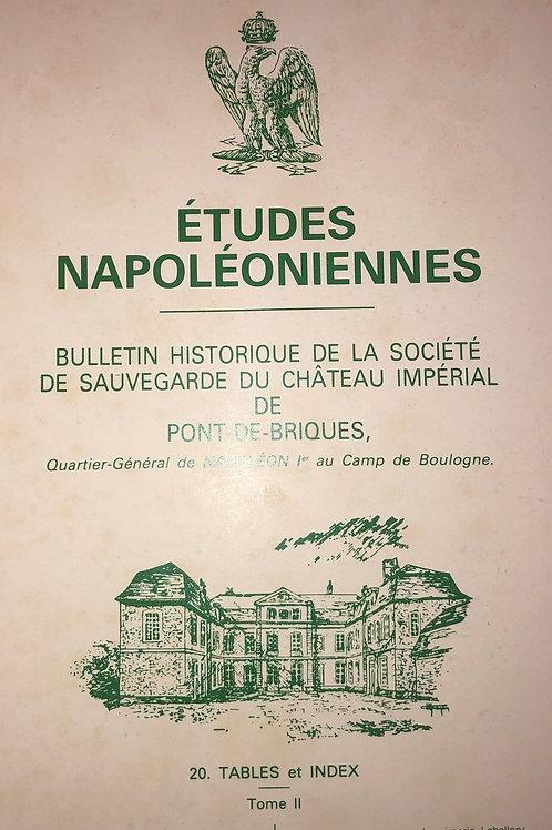 Etudes Napoleoniennes N°20