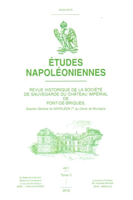 Etudes Napoleoniennes N°45-2