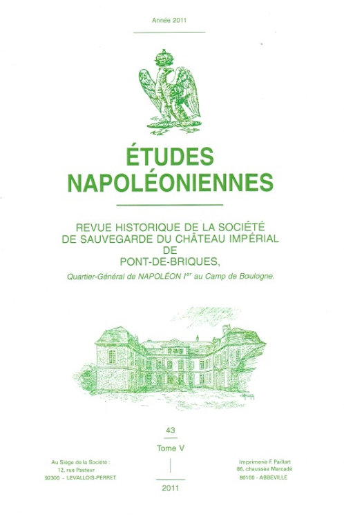 Etudes Napoleoniennes N°43