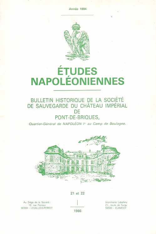 Etudes Napoleoniennes N°21-22