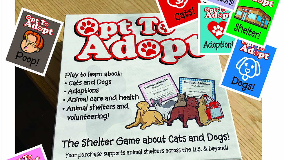 Opt To Adopt Board Game