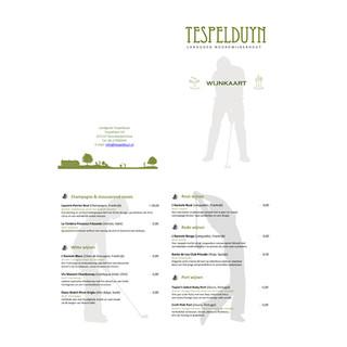 menukaart