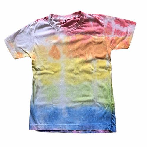 Tie Dye Rainbow streep