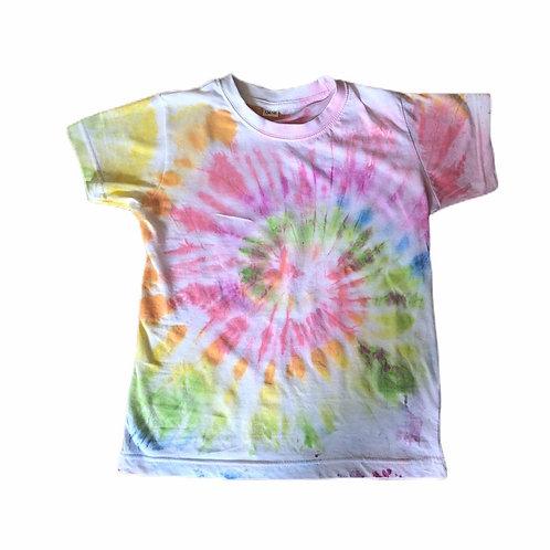 Tie Dye Rainbow Swirl